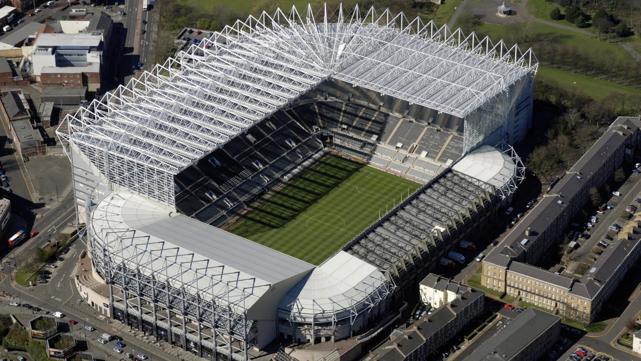 St James Park Is An All Seater Stadium In Newcastle Upon Tyne England It The Home Of Premier League Club United FC And Has A Seating
